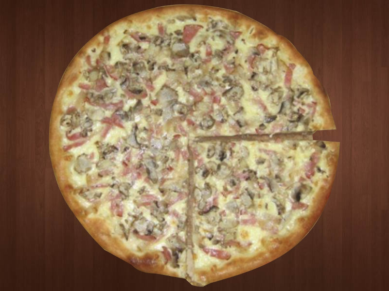 28. Pizza Carbonara