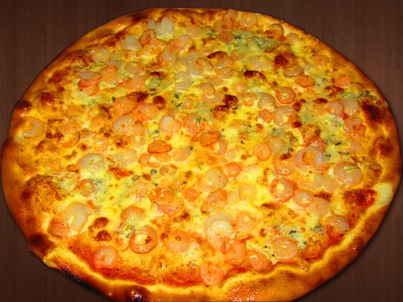 31. Pizza Gamberi