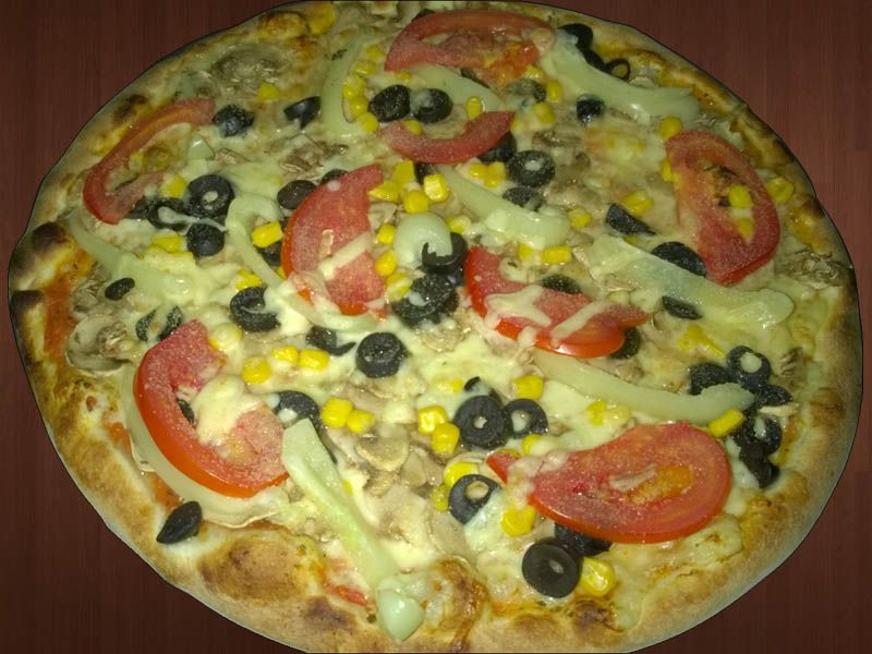 11. Pizza Primavera (Vegetariana)