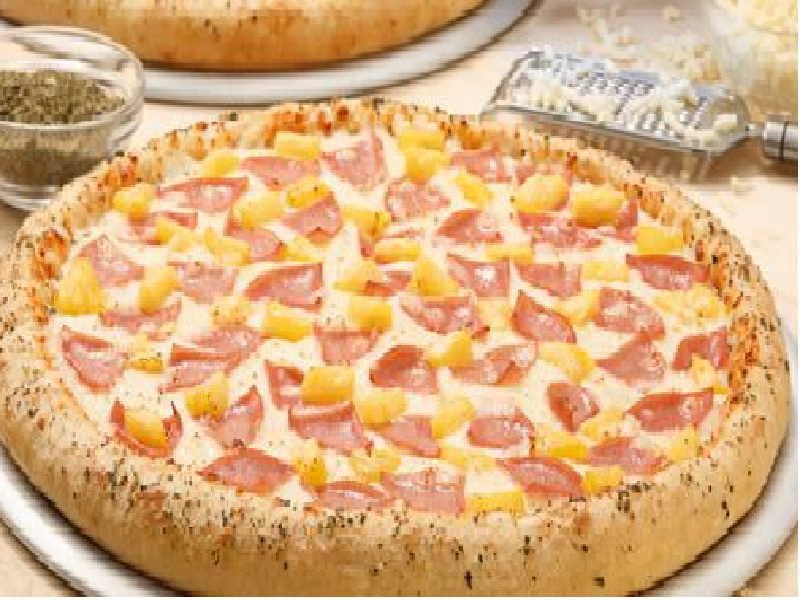 5.Pizza Hawaiana